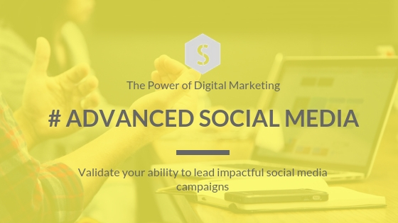 Certified Advanced Social Media