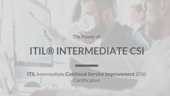 Certified ITIL® Intermediate CSI