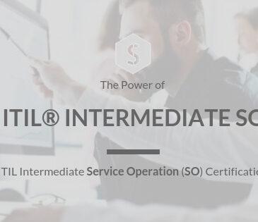 Certified ITIL® Intermediate SO