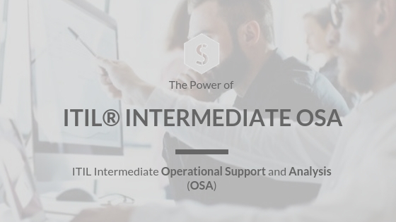 Certified ITIL® Intermediate OSA
